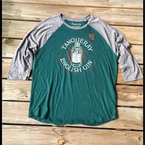 LUCKY BRAND TANQUERAY ENGLISH GIN TEE SIZE- XL